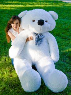 Медведь Нестор 240 см Белый