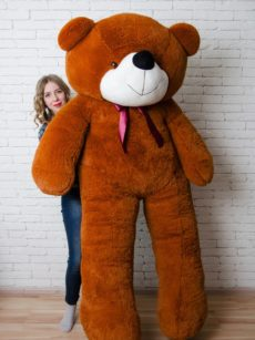 Медведь Нестор 240 см Коричневый