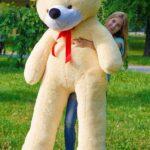 Медведь Нестор 240 см Персик