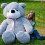 Медведь Нестор 240 см Серый — Coolbear