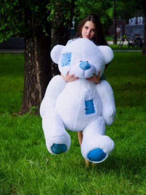 Медведь Потап 150 см Белый