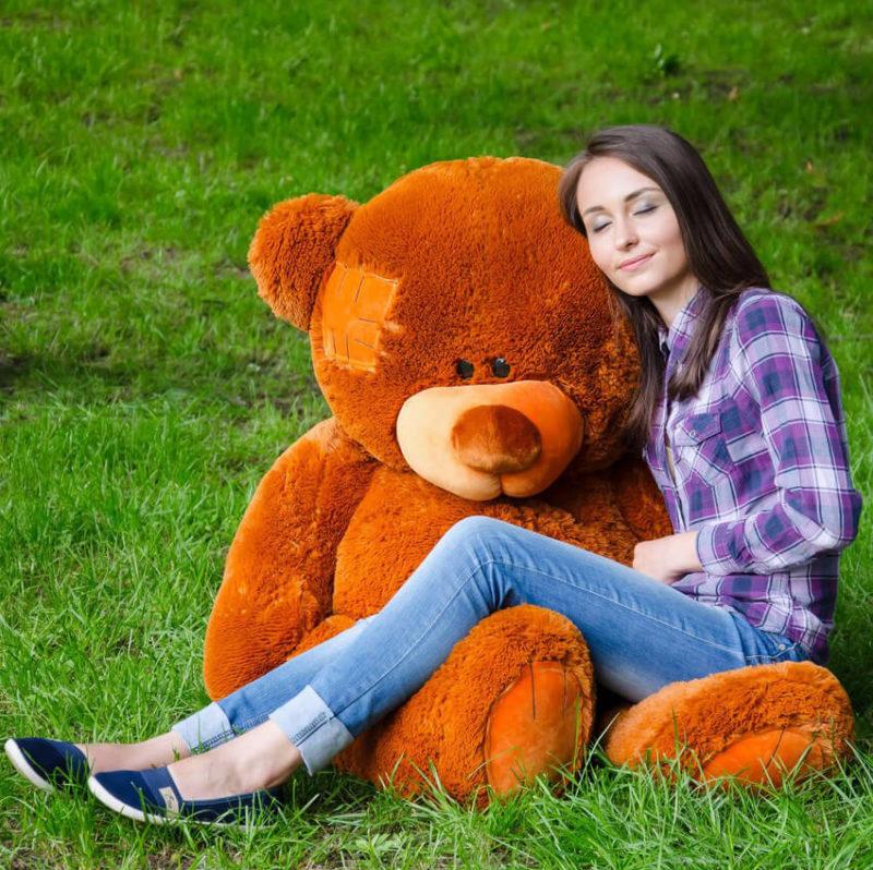 Медведь Потап 150 см Коричневый