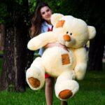 Медведь Потап 150 см Персик