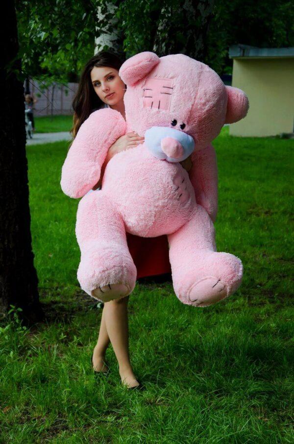 Медведь Потап 150 см Розовый