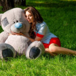 Медведь Потап 150 см Серый