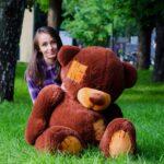 Медведь Потап 150 см Шоколадный