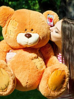Медведь Потап 90 см Карамельный