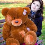 Медведь Потап 90 см Коричневый — Coolbear