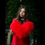 Подушка сердце 50 см — Coolbear