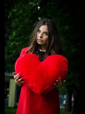 Подушка сердце 50 см