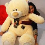 Медведь Тедди 140 см Абрикос — Coolbear