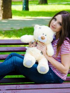Медведь Тедди 60 см Абрикос