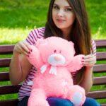 Медведь Тедди 60 см Розовый — Coolbear