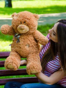 Медведь Тедди 60 см Коричневый