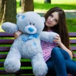 Медведь Тедди 80 см Серый — Coolbear