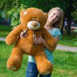 Медведь Тедди 110 см Коричневый