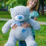 Медведь Тедди 110 см Серый