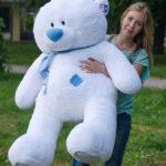 Медведь Тедди 140 см Белый