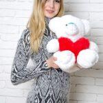 Медведь Тини 50 см Белый