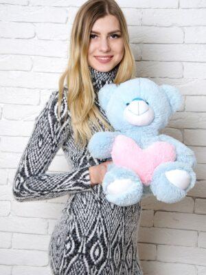 Медведь Тини 50 см Голубой
