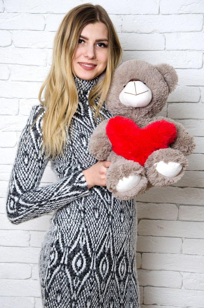 Медведь Тини 50 см Капучино