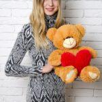 Медведь Тини 50 см Карамельный