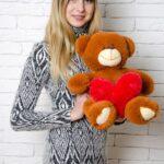 Медведь Тини 50 см Коричневый — Coolbear