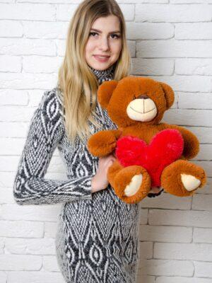 Медведь Тини 50 см Коричневый