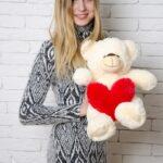 Медведь Тини 50 см Персик — Coolbear