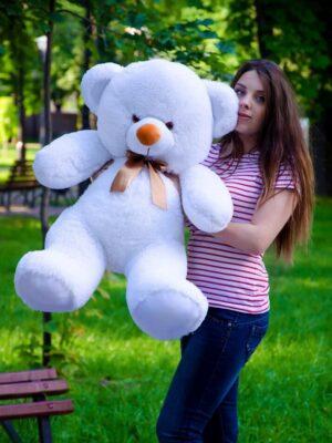 Медведь Томми 100 см Белый