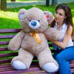 Медведь Томми 100 см Капучино — Coolbear