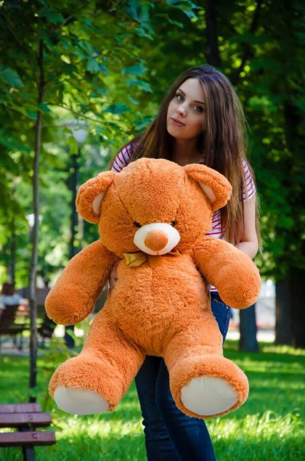 Медведь Томми 100 см Карамельный