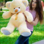 Медведь Томми 100 см Персик