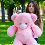 Медведь Томми 100 см Розовый