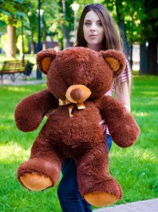 Медведь Томми 100 см Шоколадный