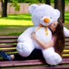 Медведь Томми 150 см Белый
