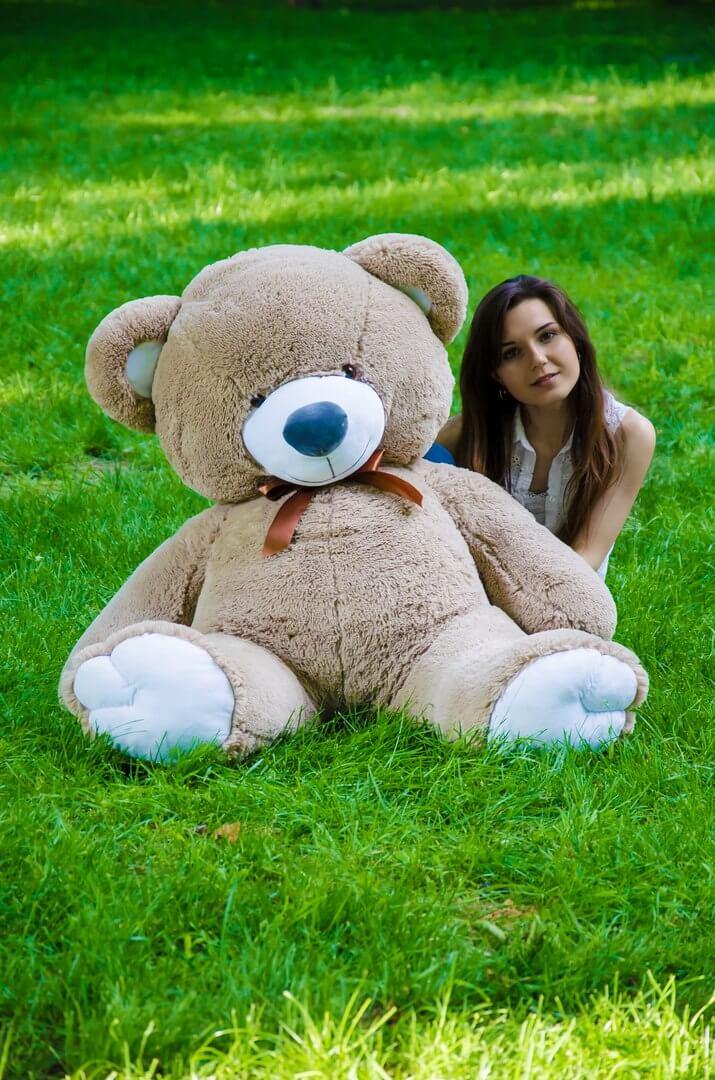 Медведь Томми 150 см Капучино