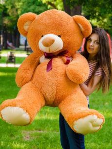 Медведь Томми 150 см Карамельный