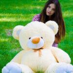 Медведь Томми 150 см Персик