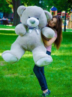 Медведь Томми 150 см Серый