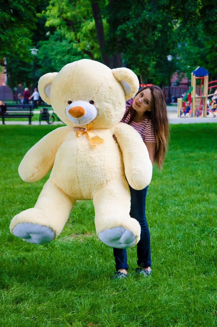 Медведь Томми 180 см Персик