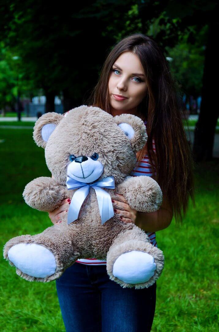 Медведь Томми 65 см Капучино