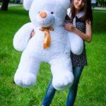 Медведь Ветли 130 см Белый — Coolbear
