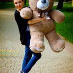 Медведь Ветли 130 см Капучино — Coolbear