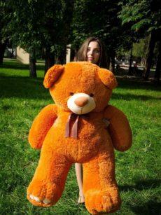 Медведь Ветли 130 см Карамельный
