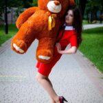 Медведь Ветли 130 см Коричневый — Coolbear