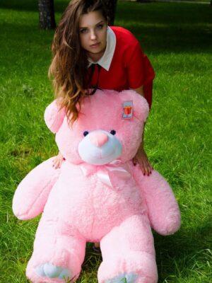 Медведь Ветли 130 см Розовый