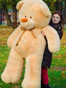 Медведь Ветли 160 см Бежевый