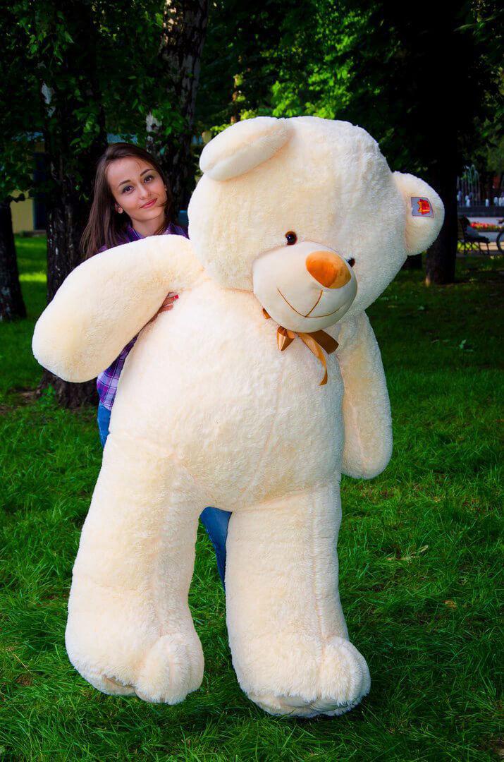 Медведь Ветли 160 см Персик