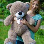 Медведь Бойд 100 см Капучино